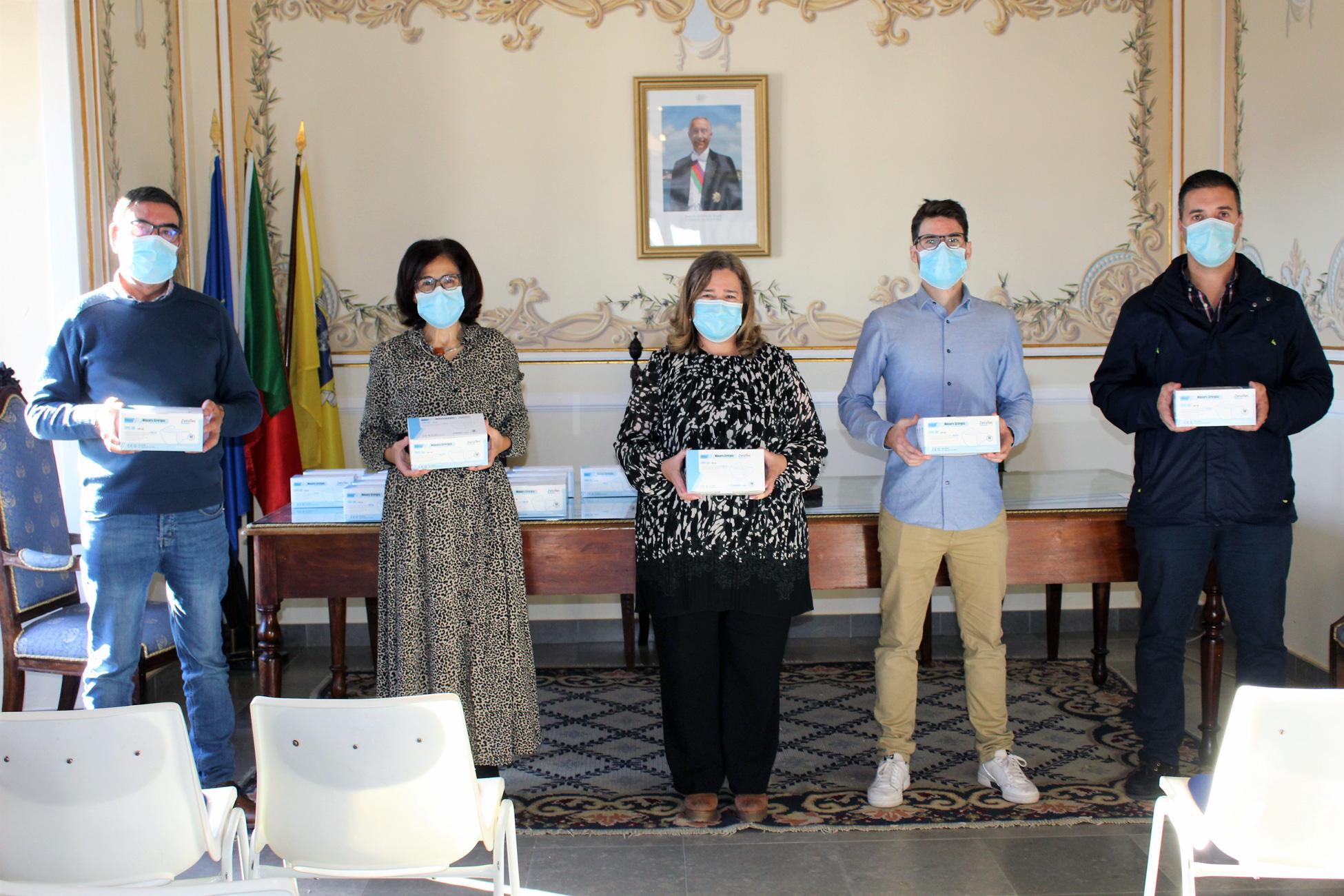 Empresa de Mourão lança-se na produção de Máscaras