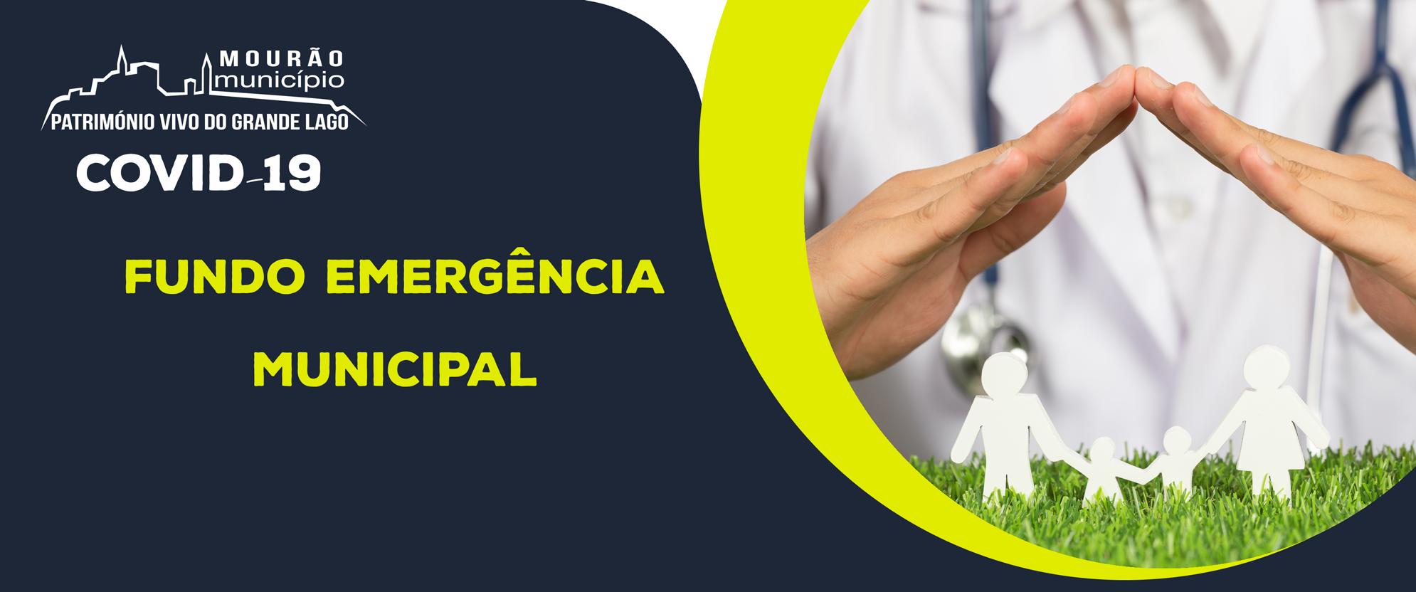 Mourão reativa Fundo de Emergência Municipal
