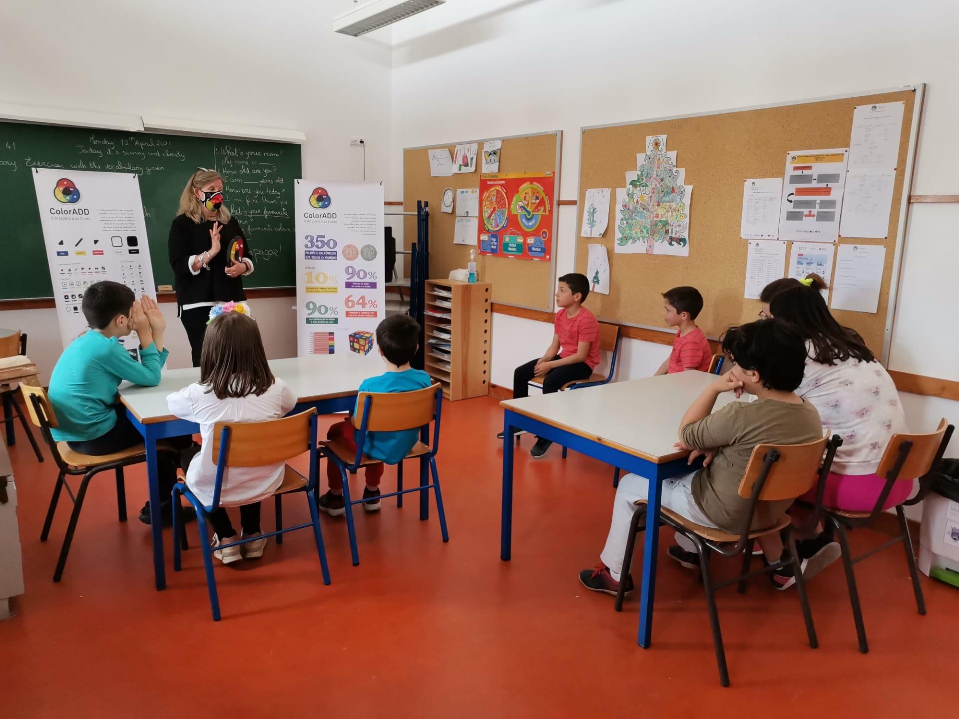 Programa ColorAdd nas Escolas