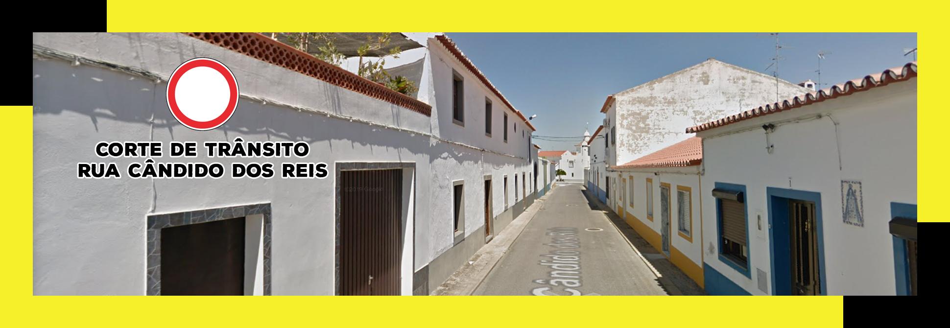 Corte Trânsito – Rua Cândido dos Reis