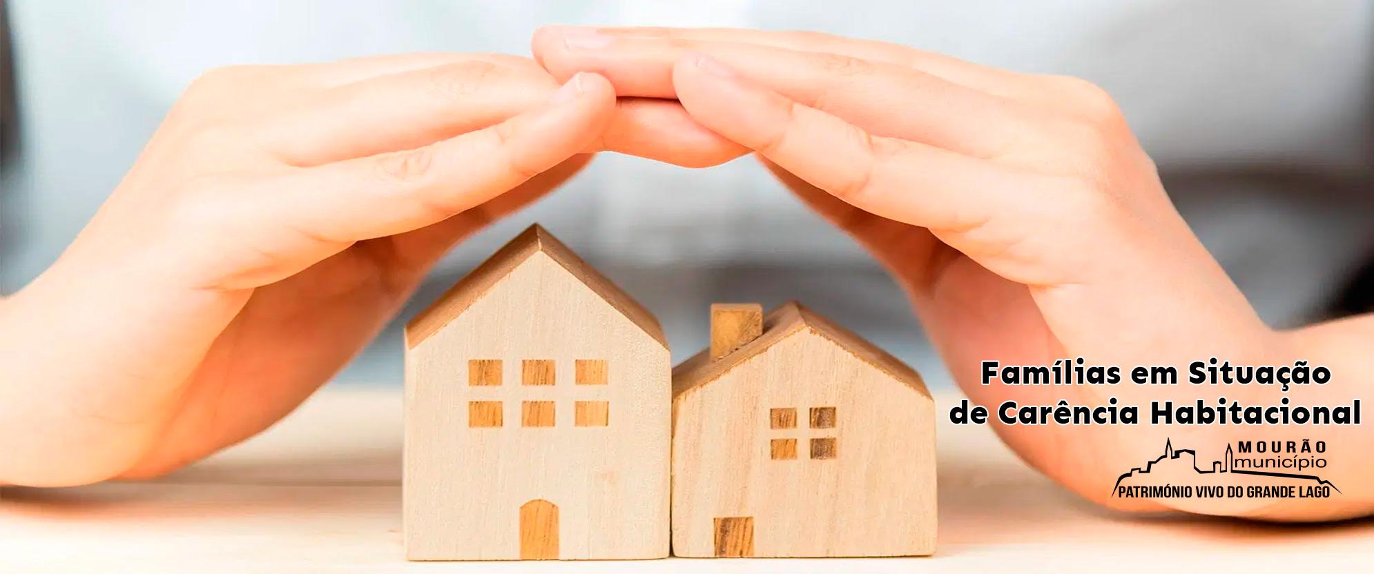 Famílias em Situação de Carência Habitacional