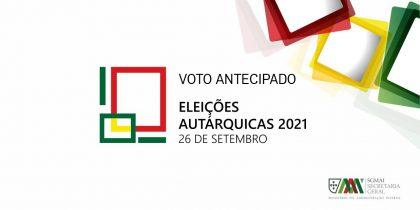 Voto Antecipado Autárquicas 2021 – Documentos de Apoio e Esclarecimento